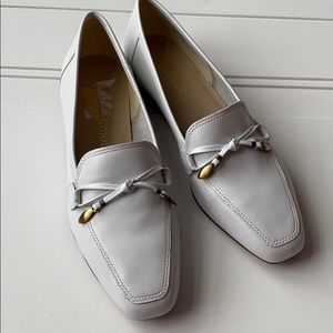 ENZO ANGIOLINI White Loafer SZ 7.5